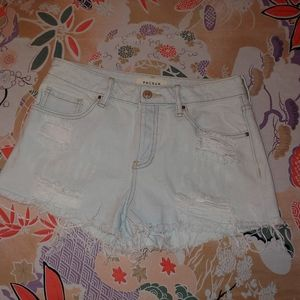 Pacsun mid rise jean shorts